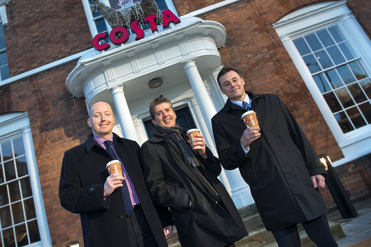 Costa Coffee Opens The Doors To City Centres First Drive