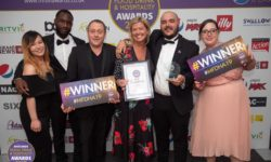 The Edgbaston Scopes Four Awards in One Night