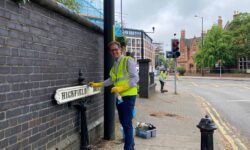 A clean sweep for the team at Calthorpe Estates